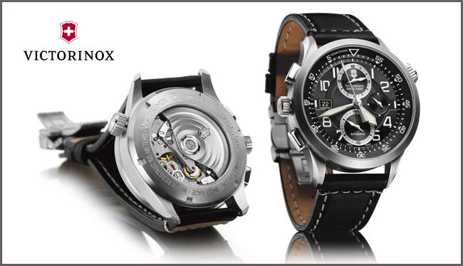 Ремонт швейцарских часов Victorinox в СПб