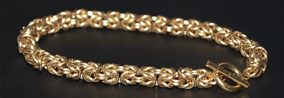 Ручное изготовление цепей и браслетов в СПб