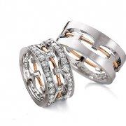 Свадебные кольца на заказ в СПб